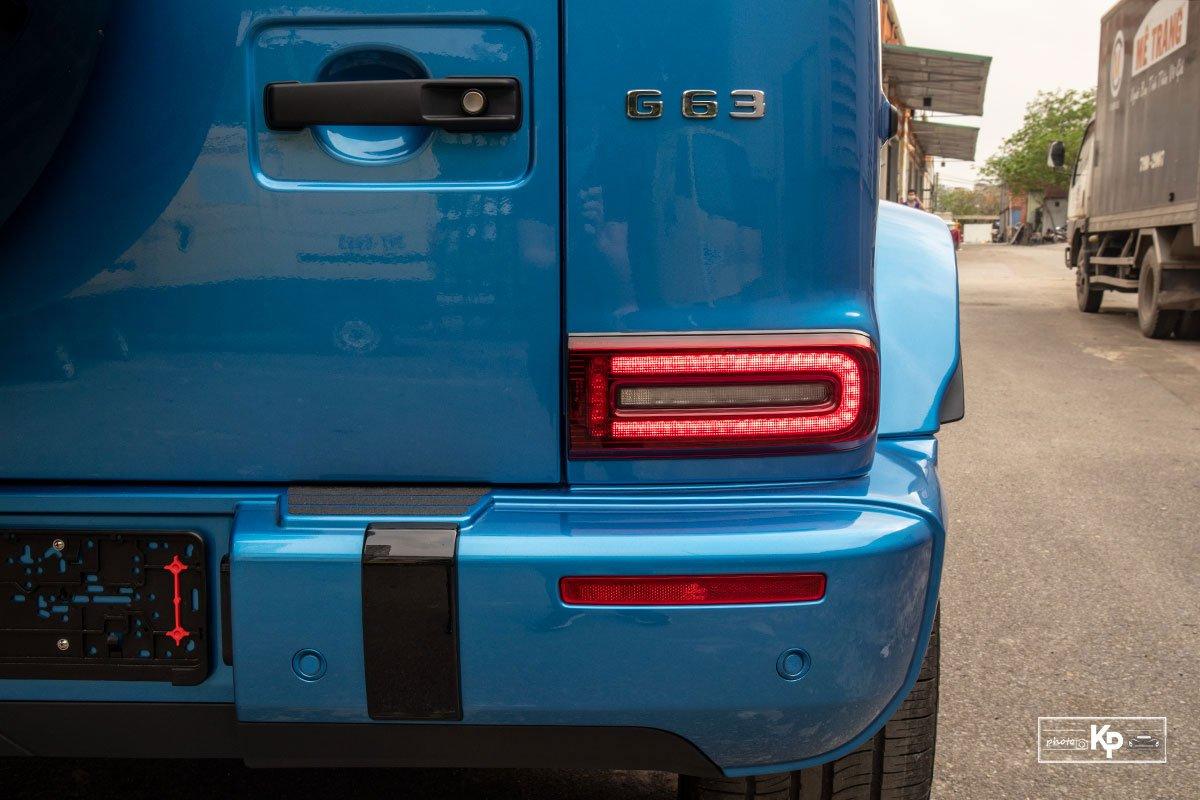 """Chi tiết Mercedes-Benz G63 màu """"độc"""", nhiều người liên tưởng đến xe của Cường Đô La mới tậu a7"""