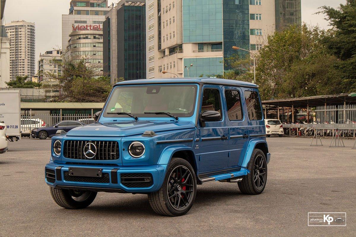 """Chi tiết Mercedes-Benz G63 màu """"độc"""", nhiều người liên tưởng đến xe của Cường Đô La mới tậu a1"""