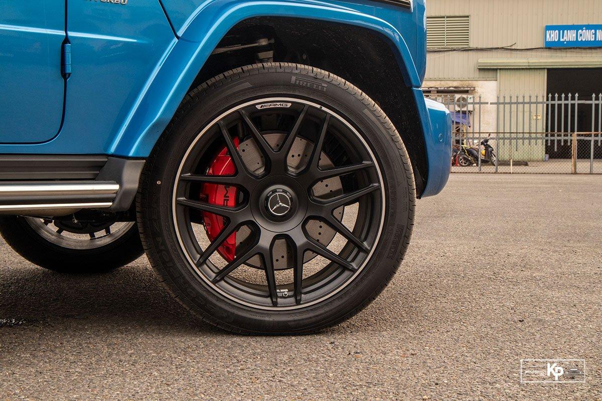 """Chi tiết Mercedes-Benz G63 màu """"độc"""", nhiều người liên tưởng đến xe của Cường Đô La mới tậu a4"""