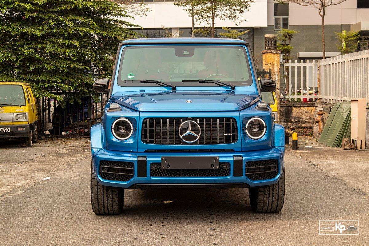 """Chi tiết Mercedes-Benz G63 màu """"độc"""", nhiều người liên tưởng đến xe của Cường Đô La mới tậu a19"""