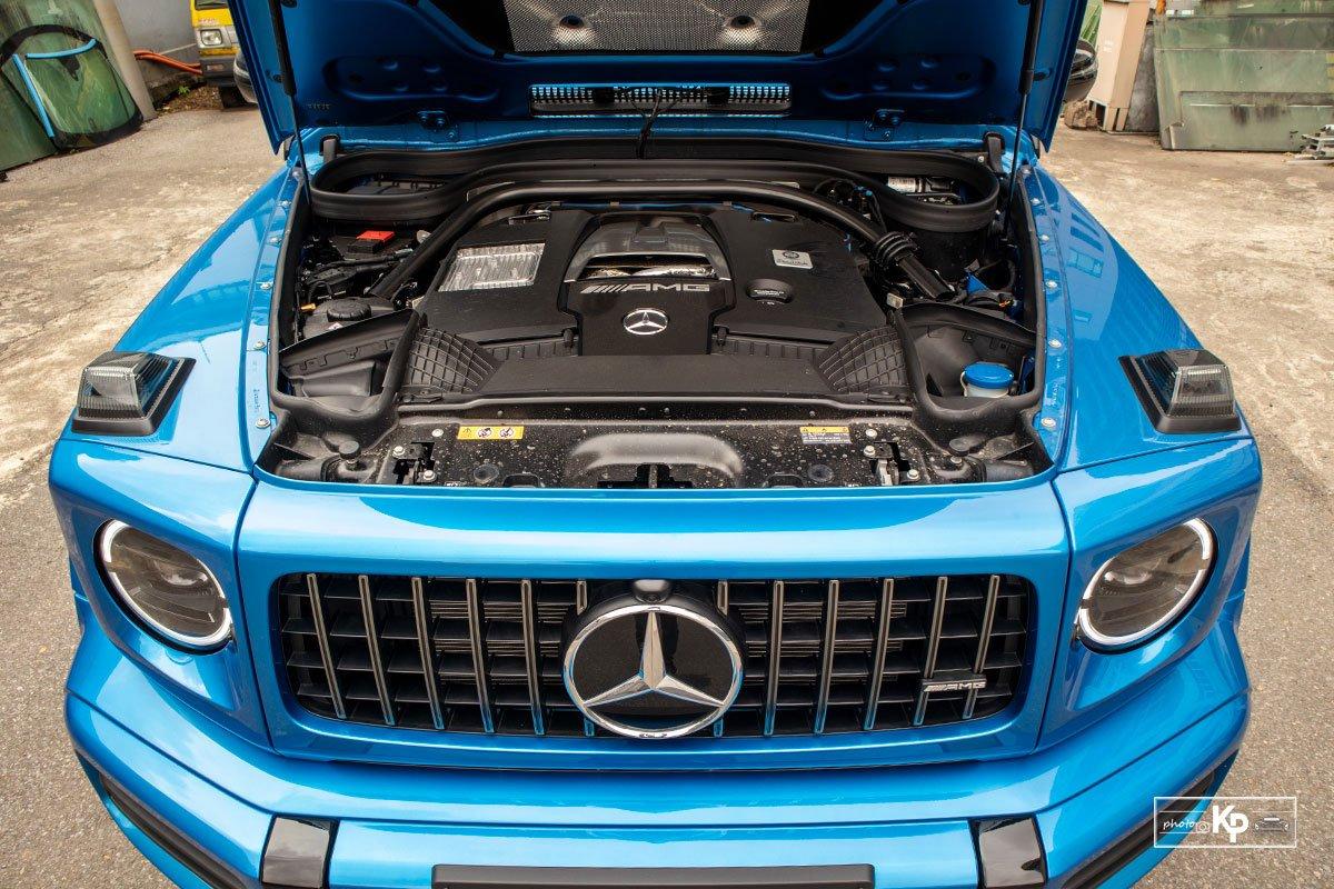 """Chi tiết Mercedes-Benz G63 màu """"độc"""", nhiều người liên tưởng đến xe của Cường Đô La mới tậu a17"""