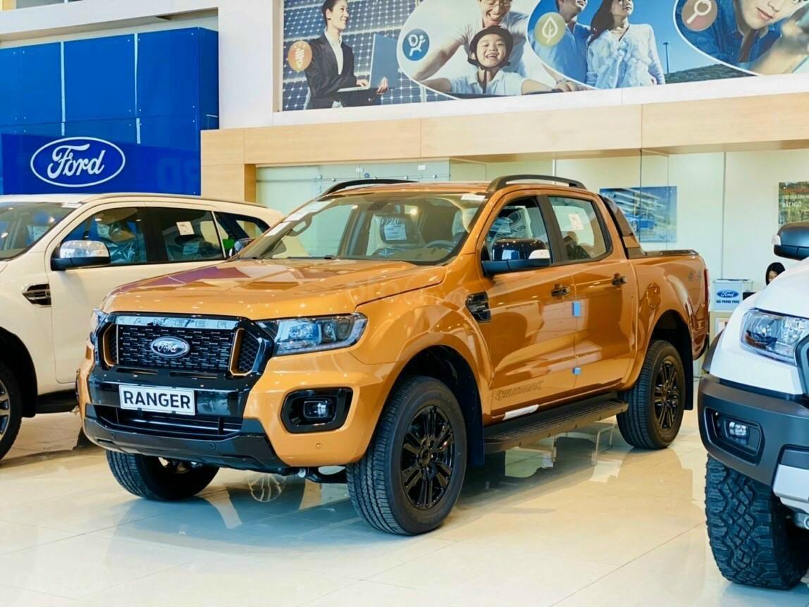 Bán Ford Ranger Wildtrak 2.0L 4x4 AT sản xuất 2021, giá chỉ 880 triệu (1)