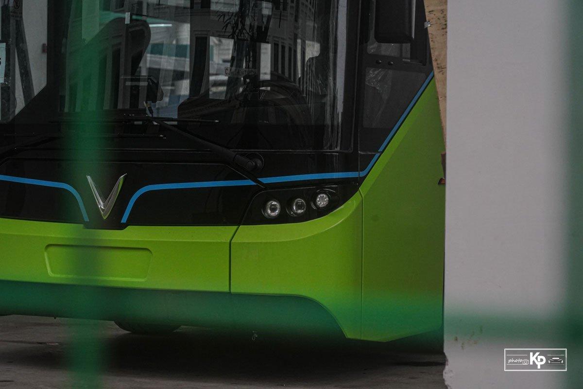 Cận cảnh xe VinBus điện chạy thử tại Hà Nội, có ngày lăn bánh chính thức a11