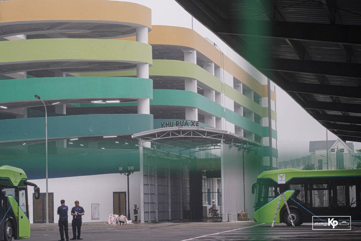 Cận cảnh xe VinBus điện chạy thử tại Hà Nội, có ngày lăn bánh chính thức a4