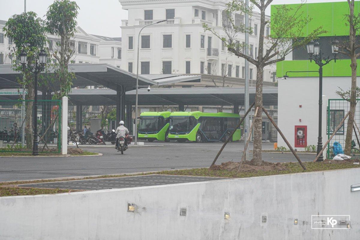 Cận cảnh xe VinBus điện chạy thử tại Hà Nội, có ngày lăn bánh chính thức a5
