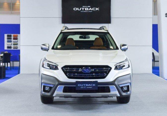 Mẫu Subaru Outback thế hệ mới vừa ra mắt thị trường Thái a1