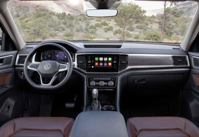 Khoang nội thất tiện nghi củaVolkswagen Teramont 2021 1