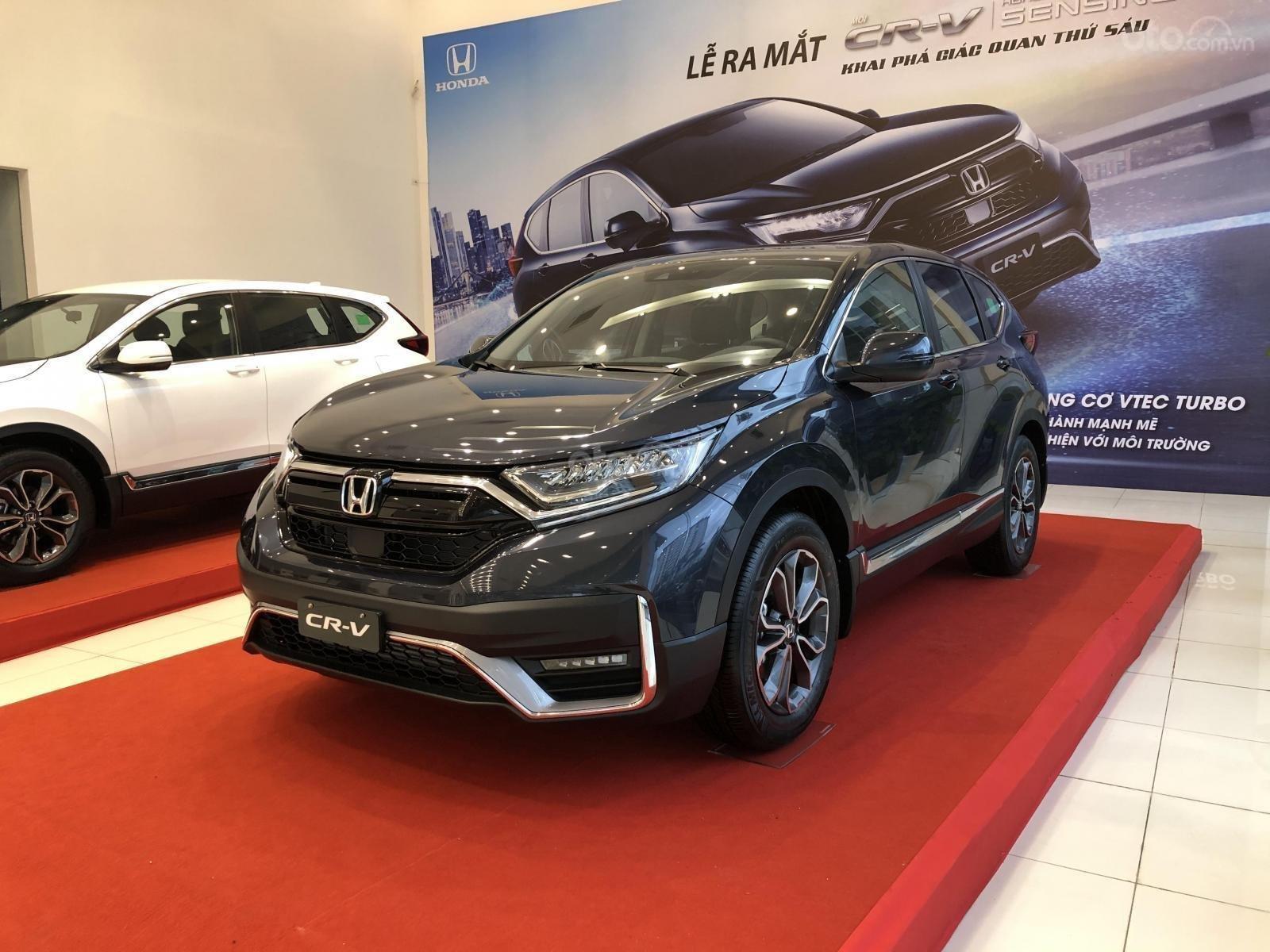 Giá xe Honda CRV 2021 - Ưu đãi dịp lễ 30/4 tiền mặt kèm phụ kiện khủng - sẵn xe giao ngay (2)