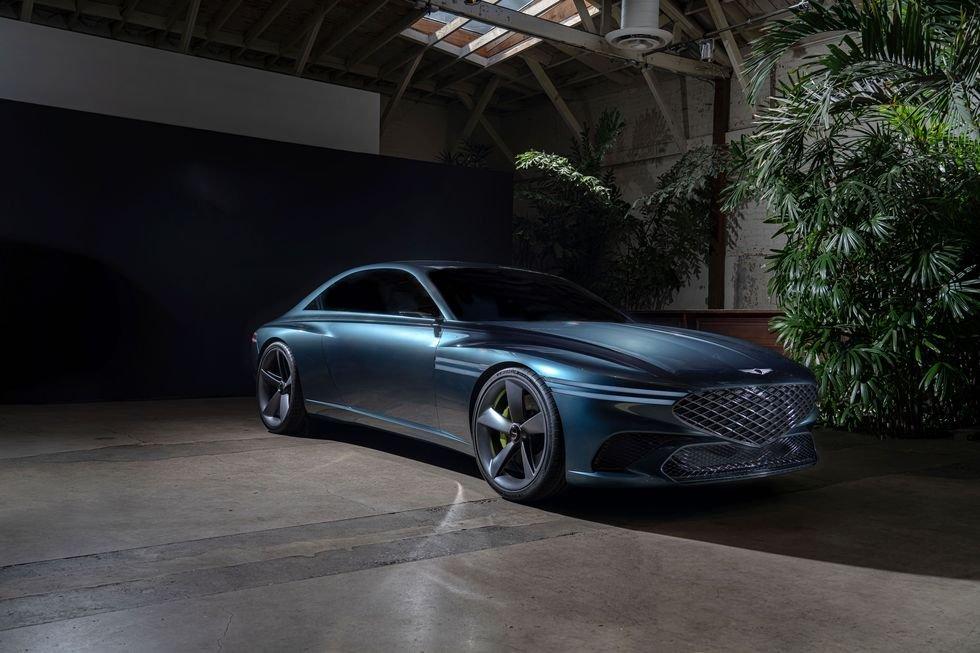 Genesis X ra mắt - Mẫu concept đẹp nhất của hãng xe Hàn Quốc.