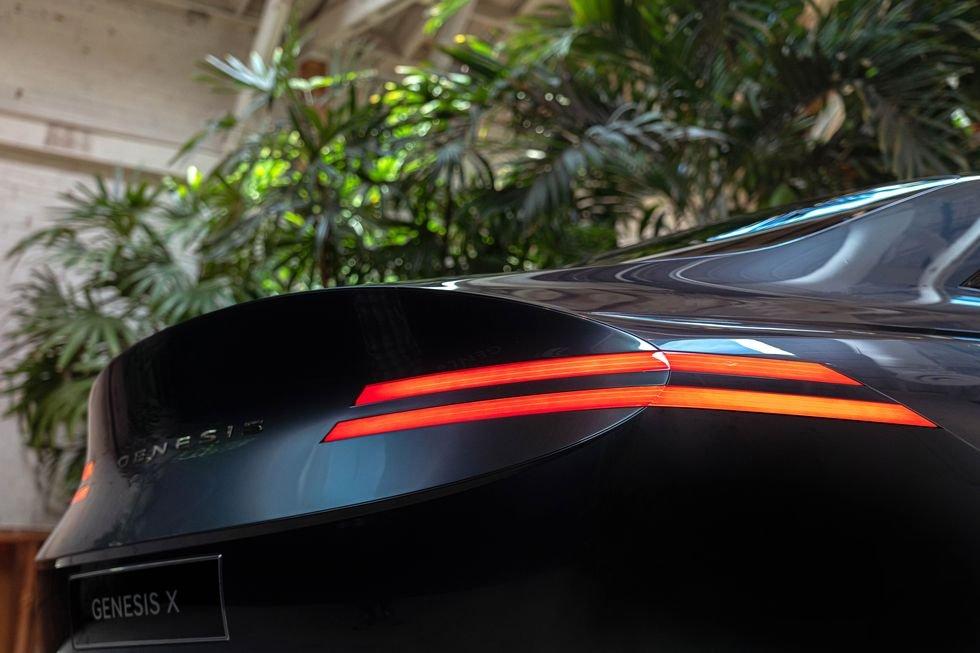 Genesis X Concept được chạm khắc tỉ mỉ từng chi tiết.