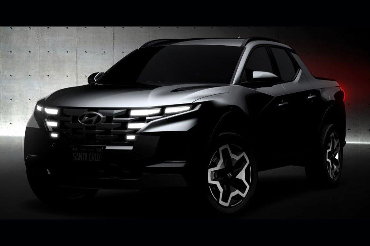 Bán tải Hyundai Santa Cruz sắp ra mắt 1