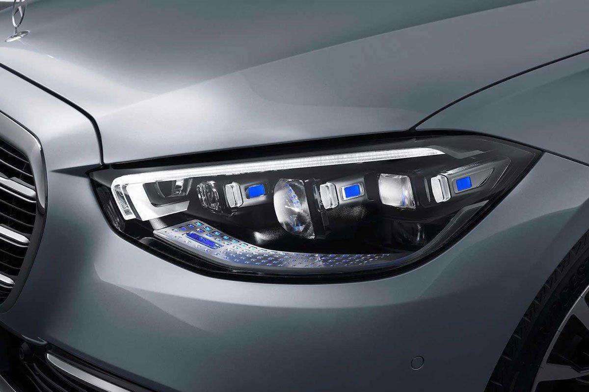 Ảnh Đèn pha xe Mercedes-Benz S-Class 2021