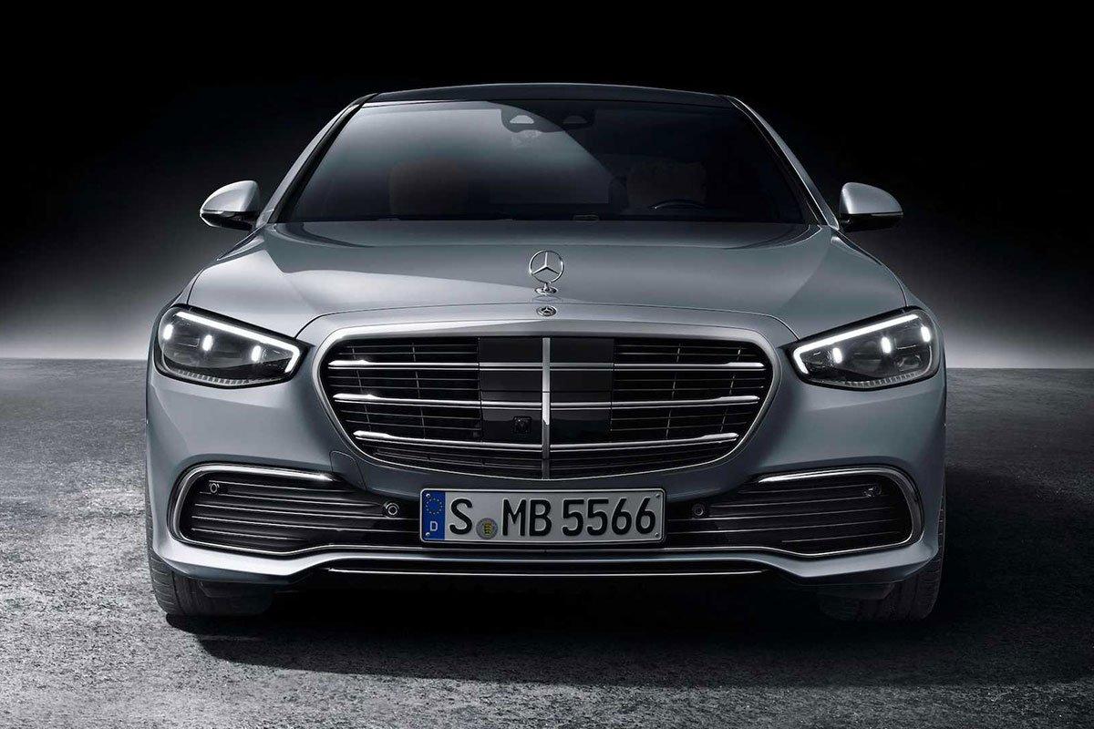 Ảnh Đầu xe Mercedes-Benz S-Class 2021