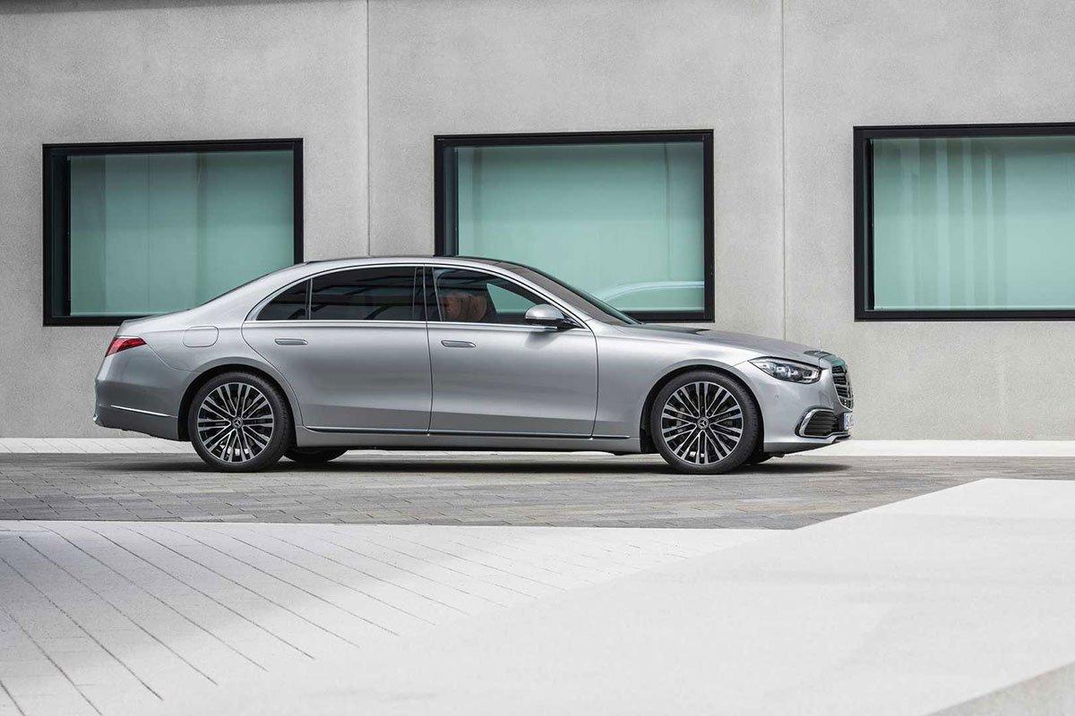 Ảnh Thân xe Mercedes-Benz S-Class 2021