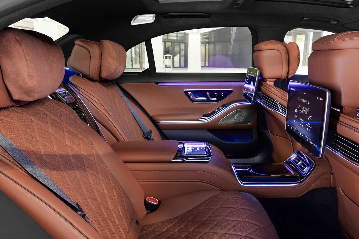 Ảnh Ghế sau xe Mercedes-Benz S-Class 2021