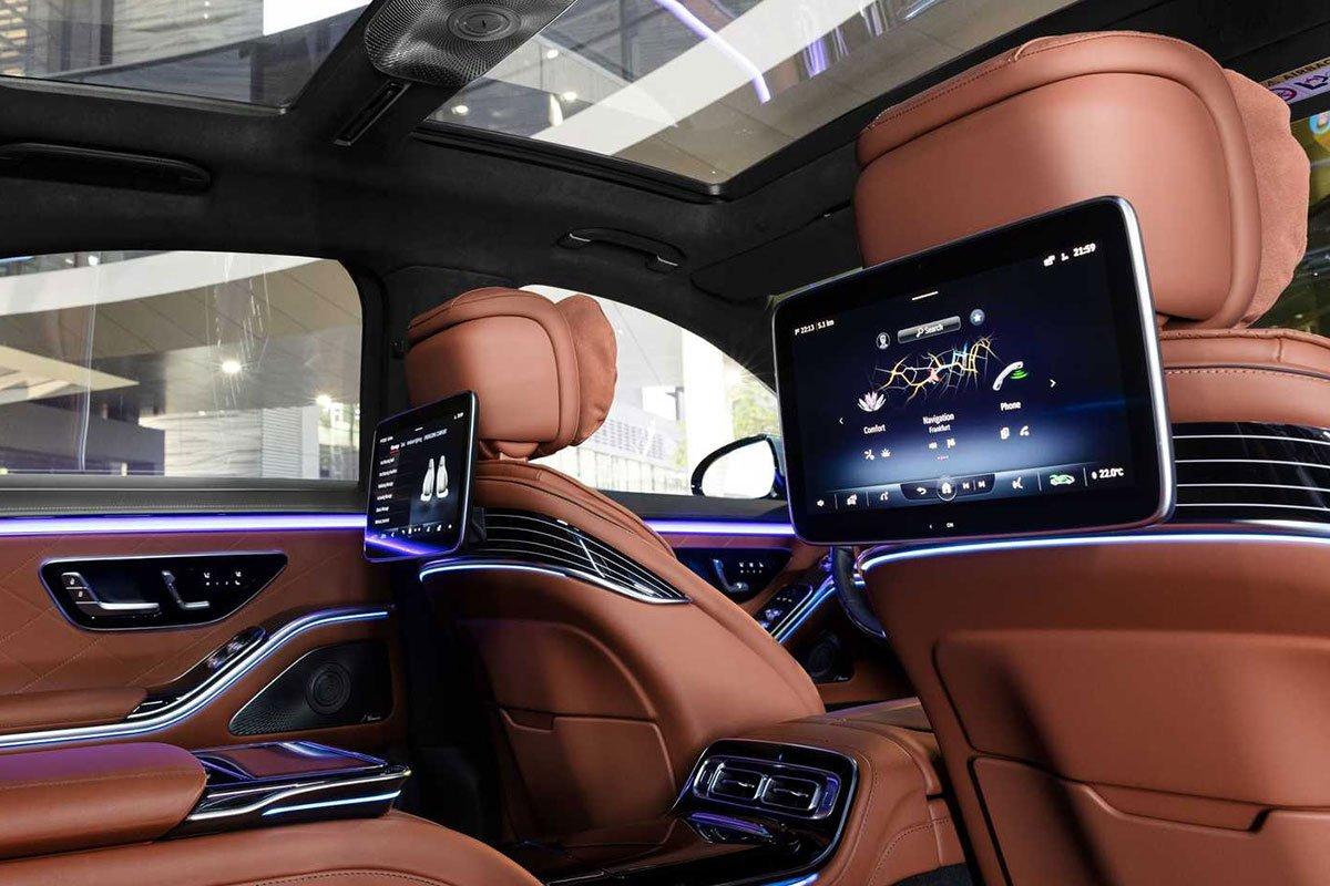 Ảnh Màn hình xe Mercedes-Benz S-Class 2021 a1