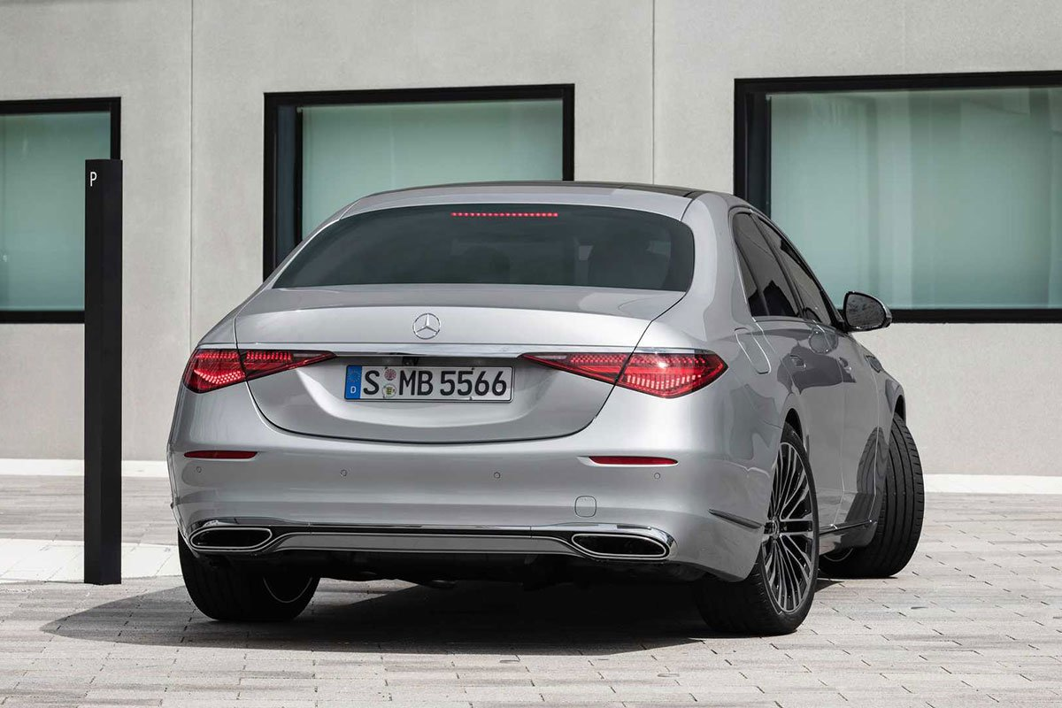 Ảnh Đuôi xe Mercedes-Benz S-Class 2021