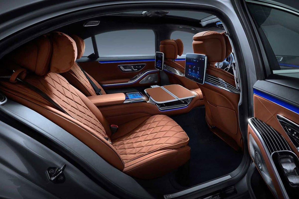 Ảnh Ghế sau xe Mercedes-Benz S-Class 2021 a1