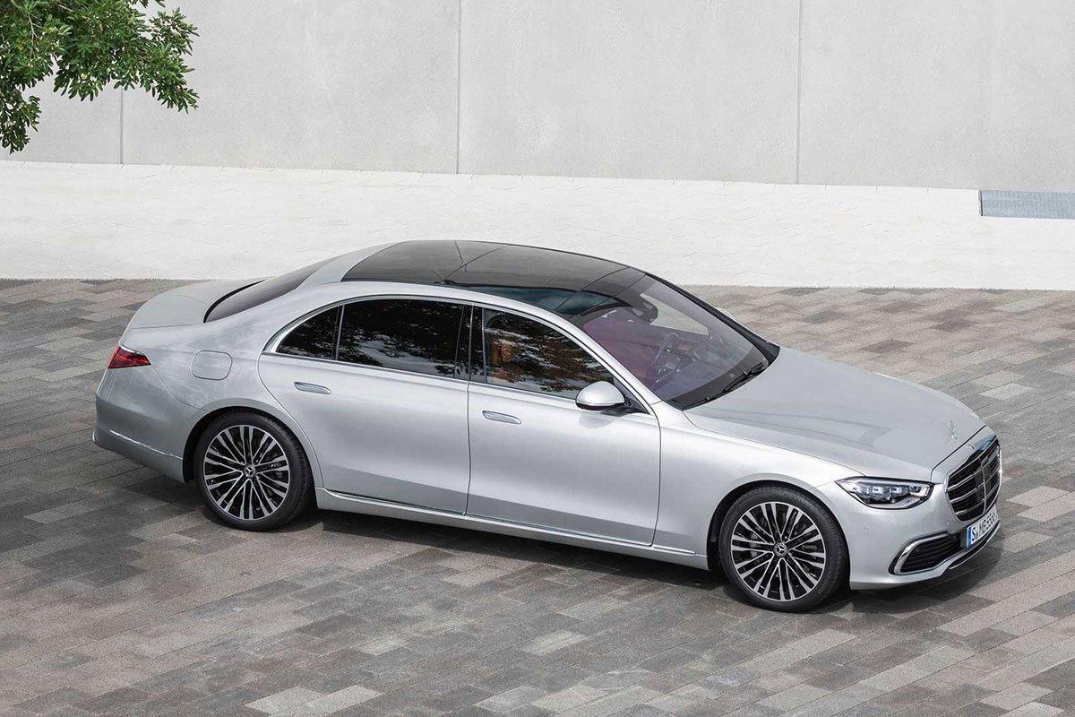 Ảnh giới thiệu xe Mercedes-Benz S-Class 2021