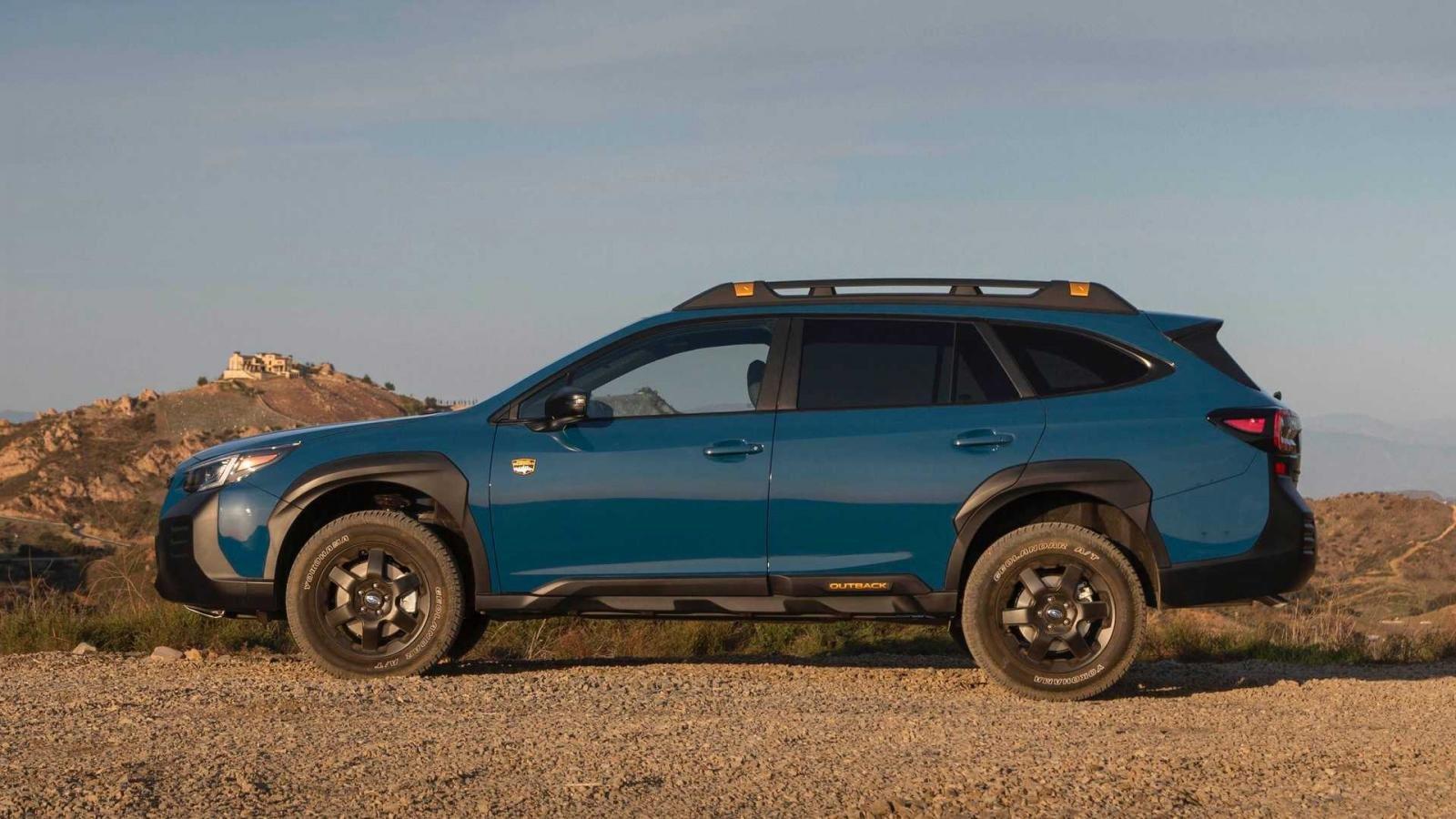 Subaru Outback 2022 Wilderness Edition nâng cao khả năng vượt địa hình.