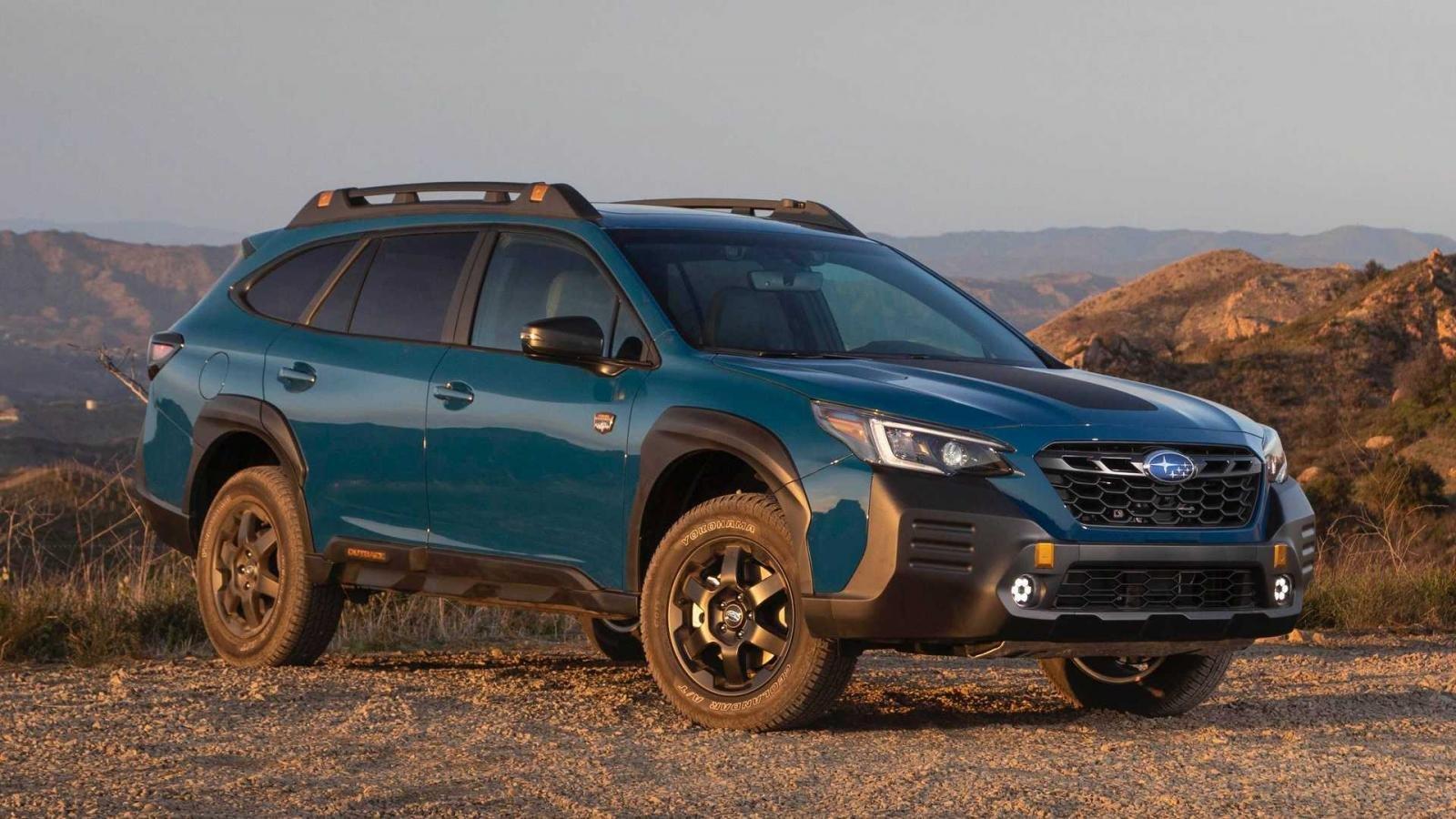 Subaru Outback 2022 Wilderness Edition siêu ngầu trình làng.