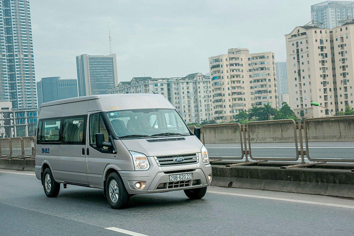 Ford Transit được nâng bảo hành lên 200.000 km.