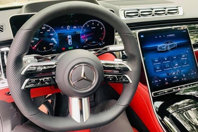 Thiết kế nội thất xe Mercedes-Benz S 500 2021 với nhiều tiện nghi nổi bật 1
