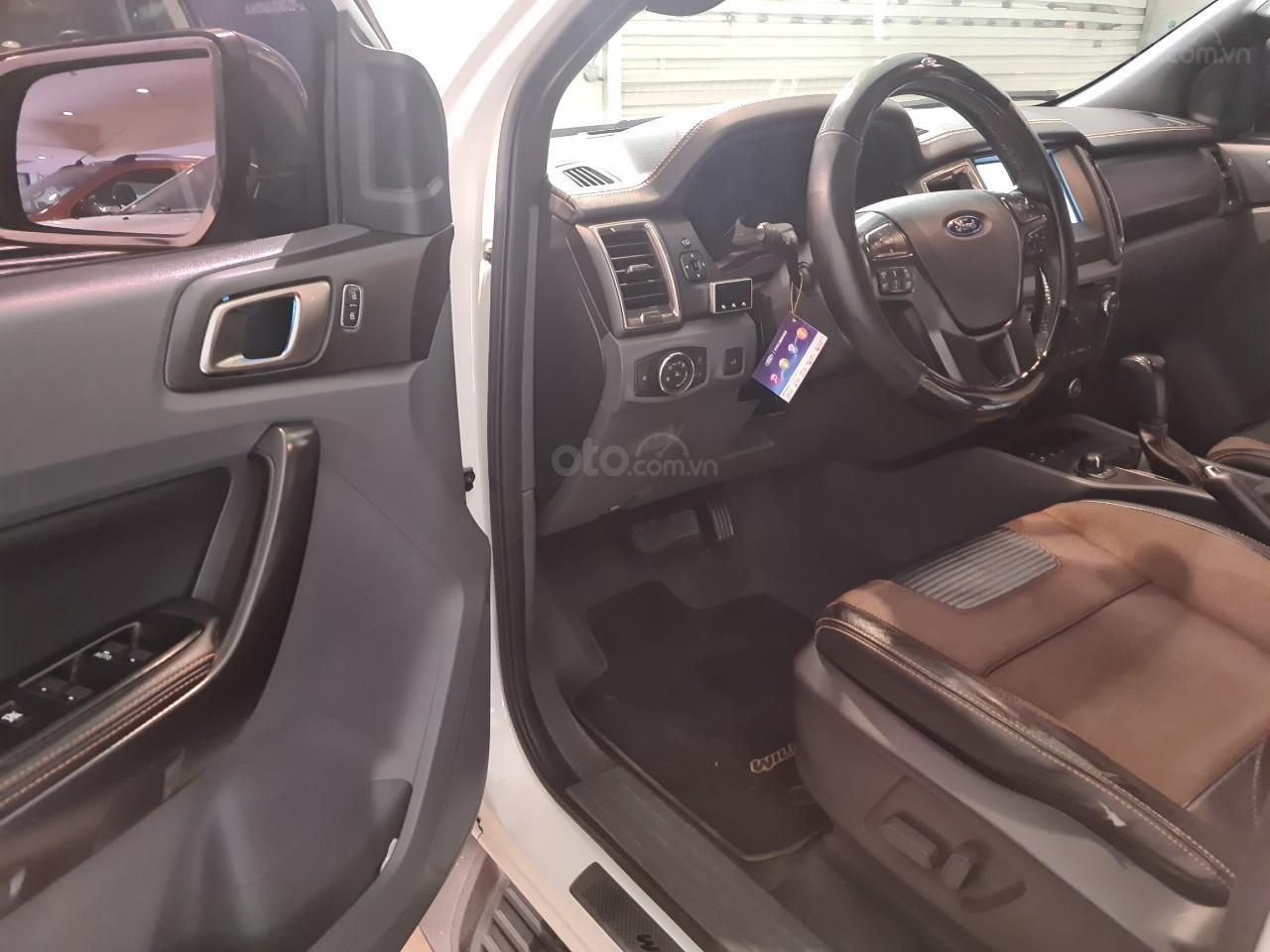 Xe Ford Ranger Wildtrak 3.2L Trắng 2015 Đk 2016 (7)