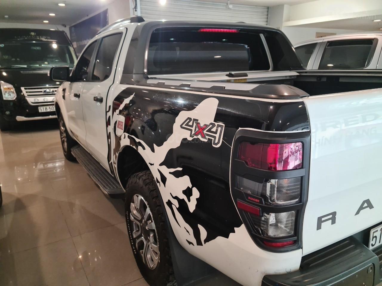 Xe Ford Ranger Wildtrak 3.2L Trắng 2015 Đk 2016 (12)