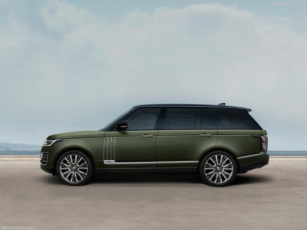 Land Rover Range Rover SVAutobiography Ultimate được chạm khắc tỉ mỉ.