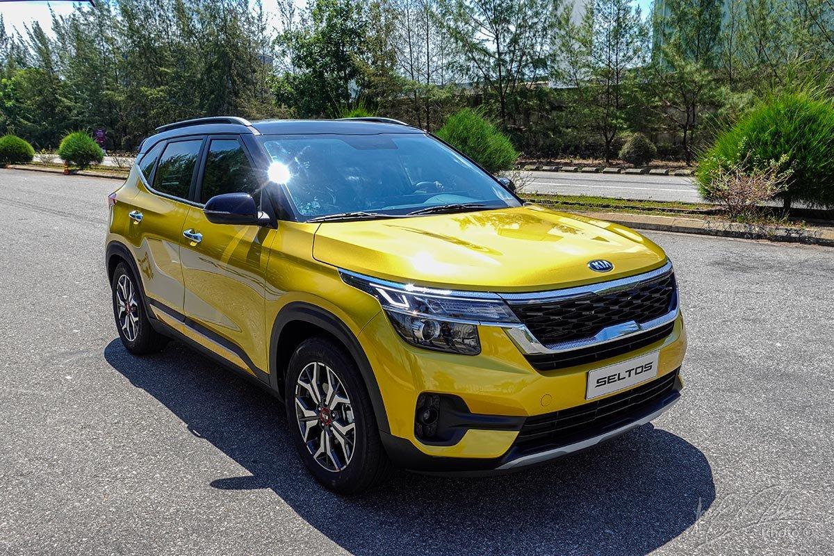 Kia Seltos 2021 bản Premium đang bán tại Việt Nam 1