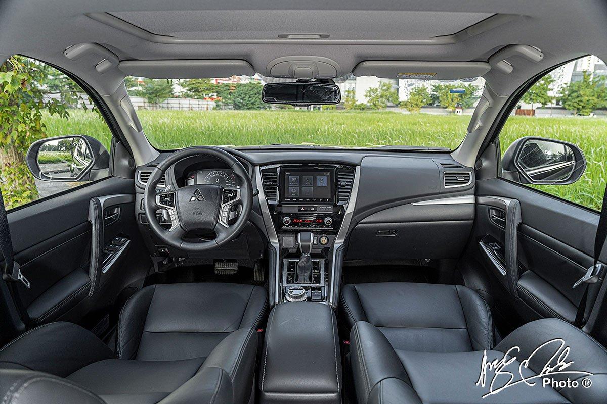 Ưu nhược điểm xe Mitsubishi Pajero Sport 2021 a8