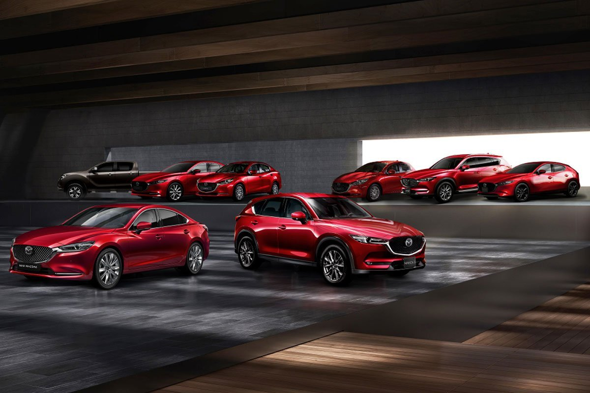 Danh mục sản phẩm xe Mazda tại Việt Nam 1