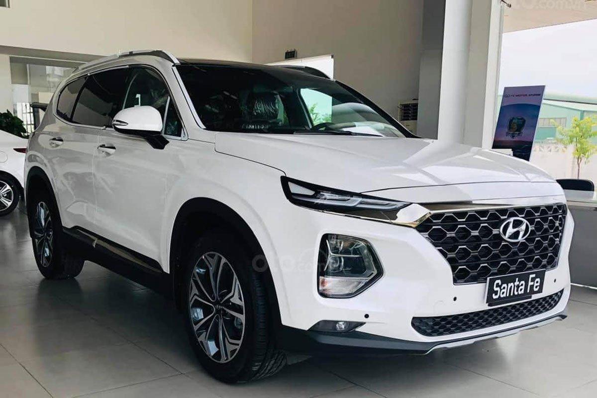 Hyundai Santa Fe 2021 đang bán tại Việt Nam 1