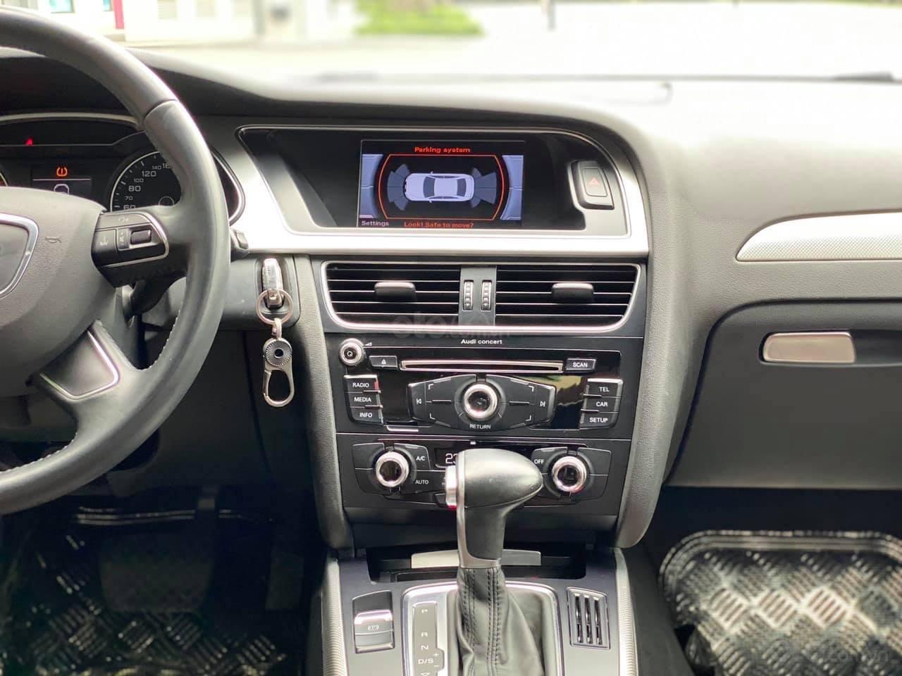Xe Audi A4 năm sản xuất 2015, màu xanh lam, giá tốt nhất thị trường (5)