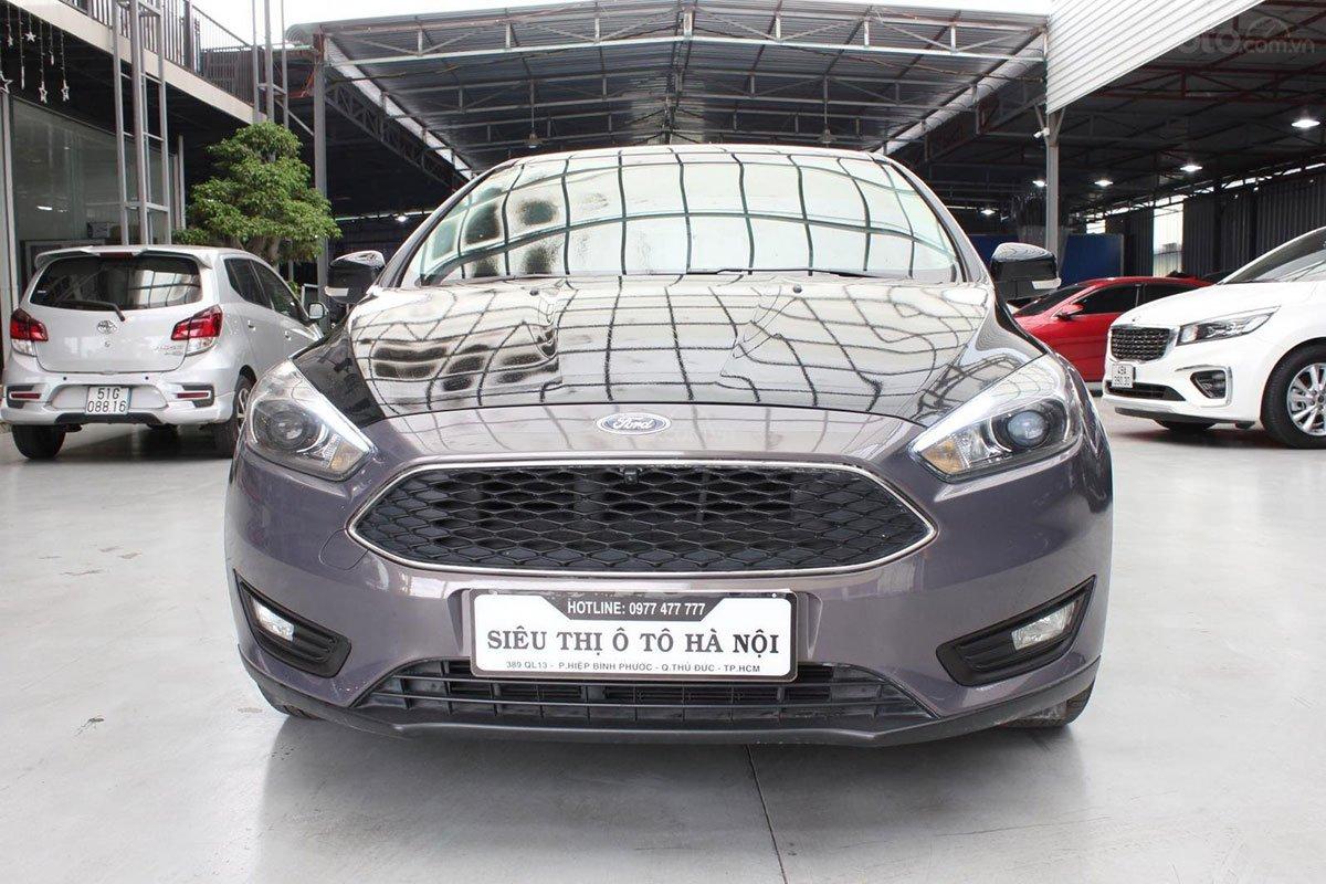 Thiết kế đầu xe Ford Focus 2019 1