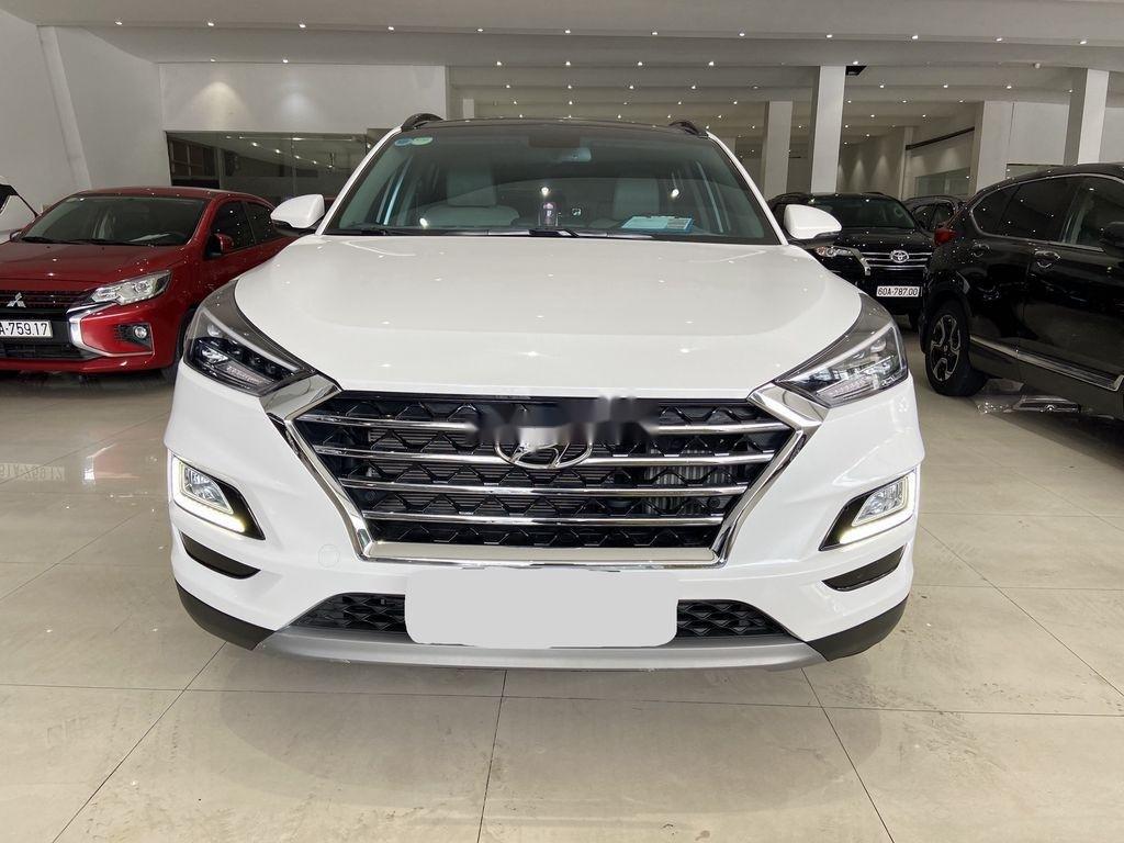 Bán ô tô Hyundai Tucson năm 2019, màu trắng (1)