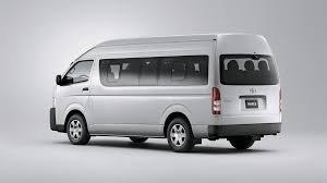 Ngoại thất Toyota Hiace 2018