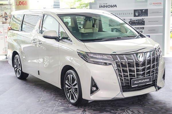 Ngoại thất Toyota Alphard 2018