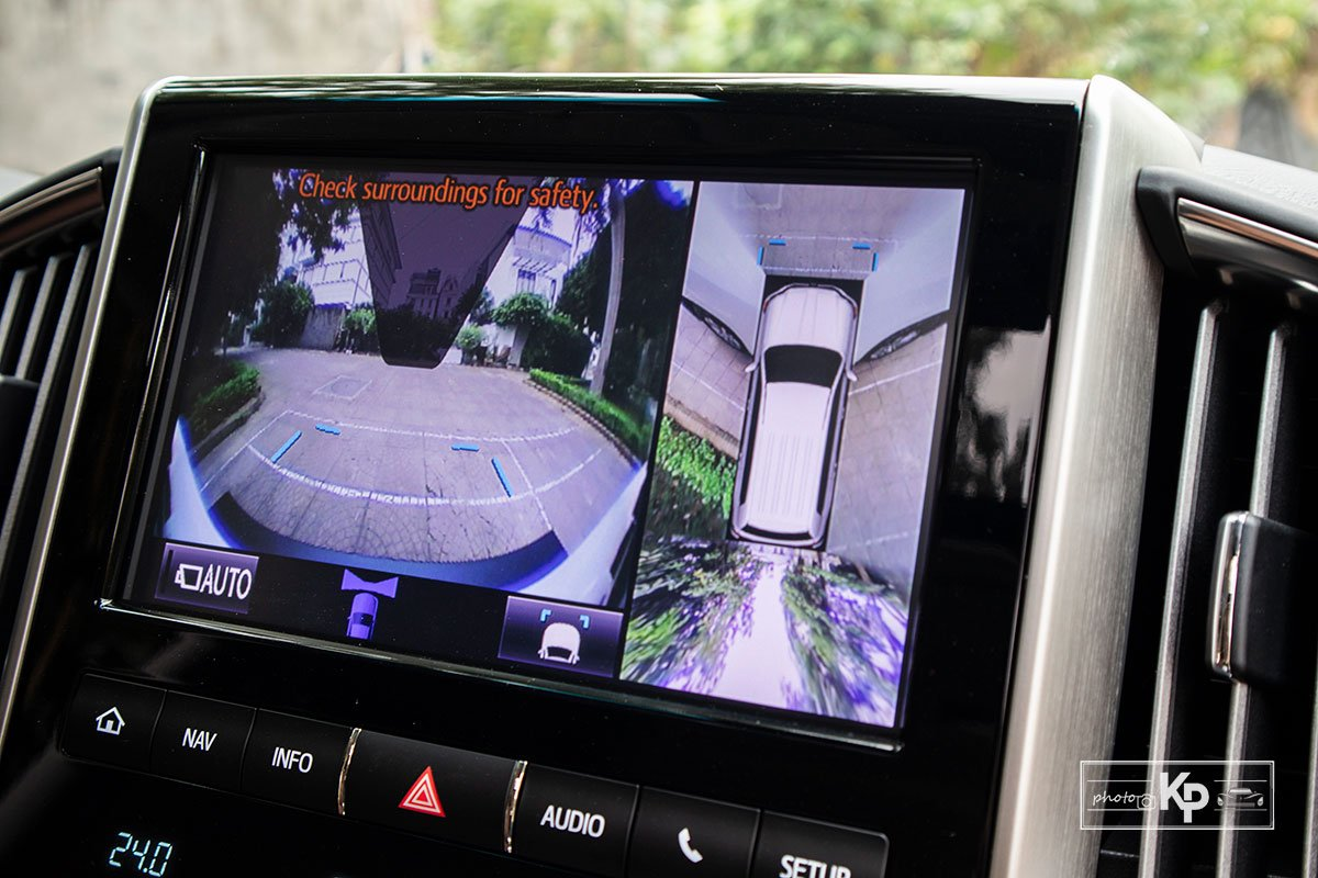 Ảnh Camera 360 độ xe Toyota Land Cruiser 2021