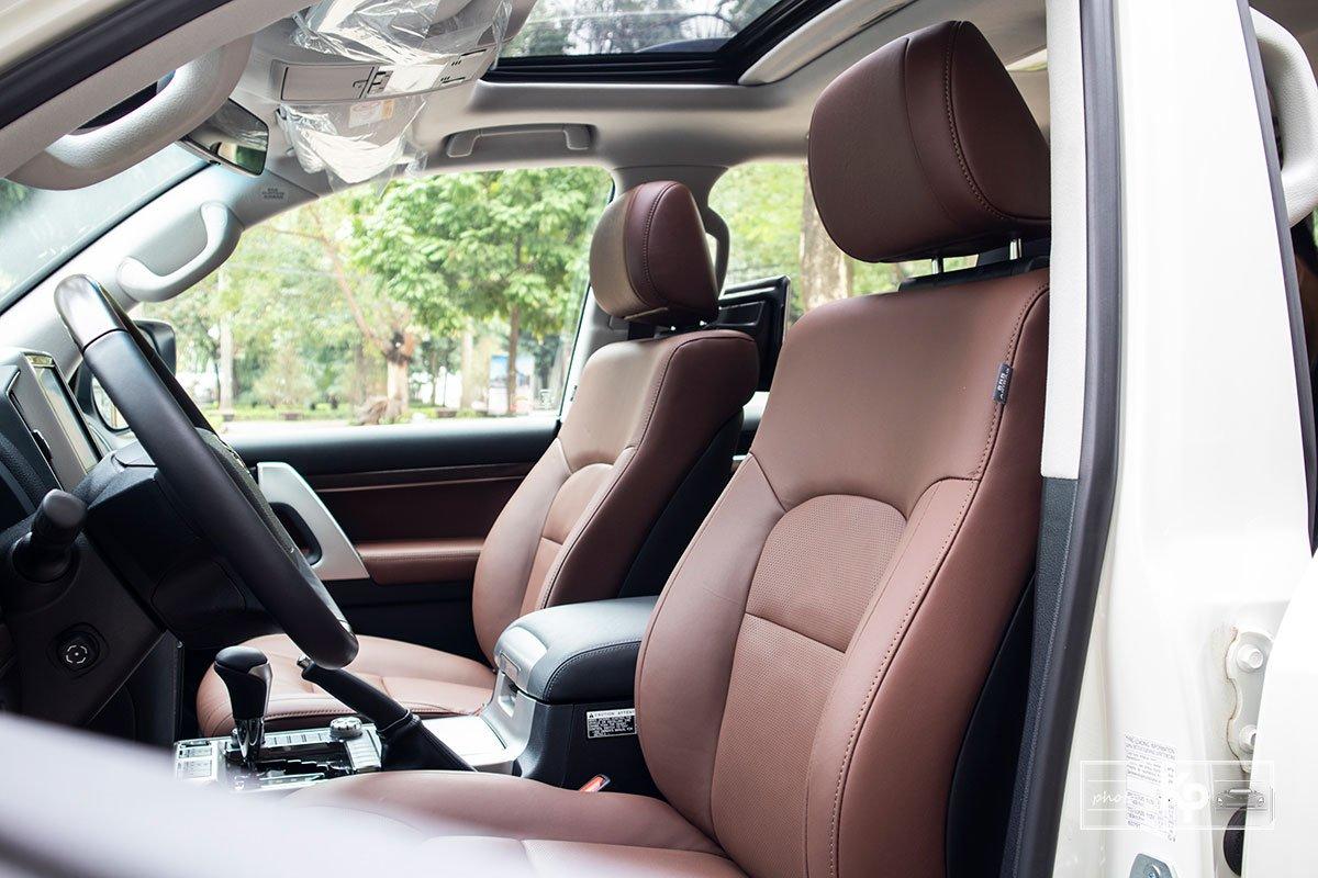 Ảnh Ghế lái xe Toyota Land Cruiser 2021