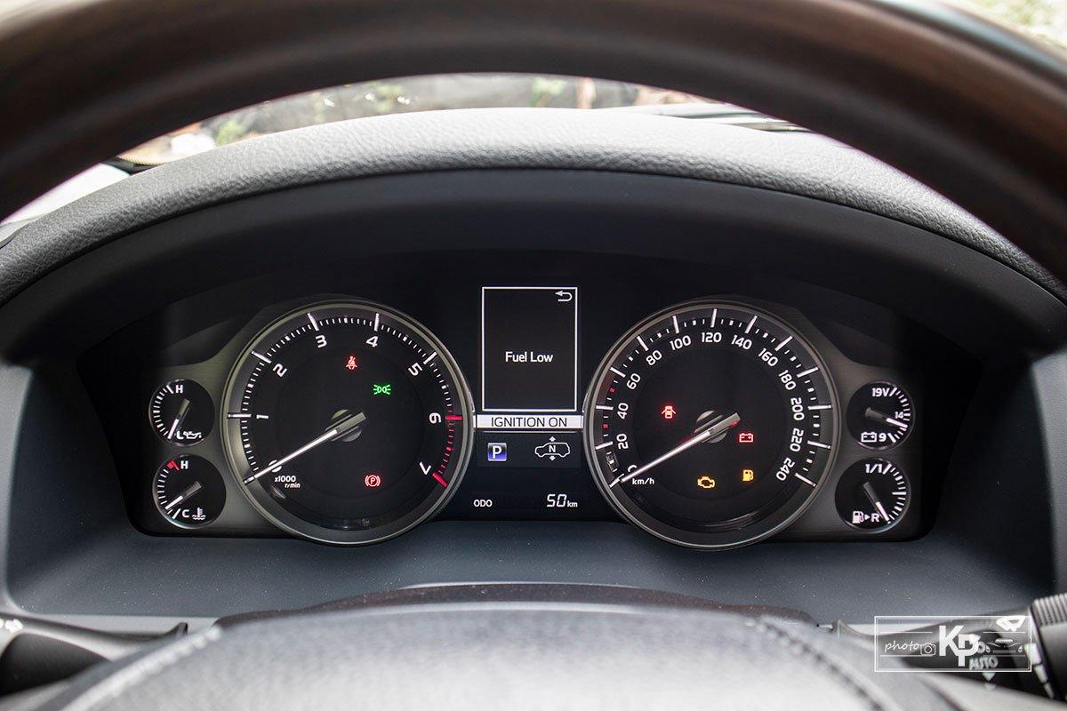 Ảnh Đồng hồ xe Toyota Land Cruiser 2021