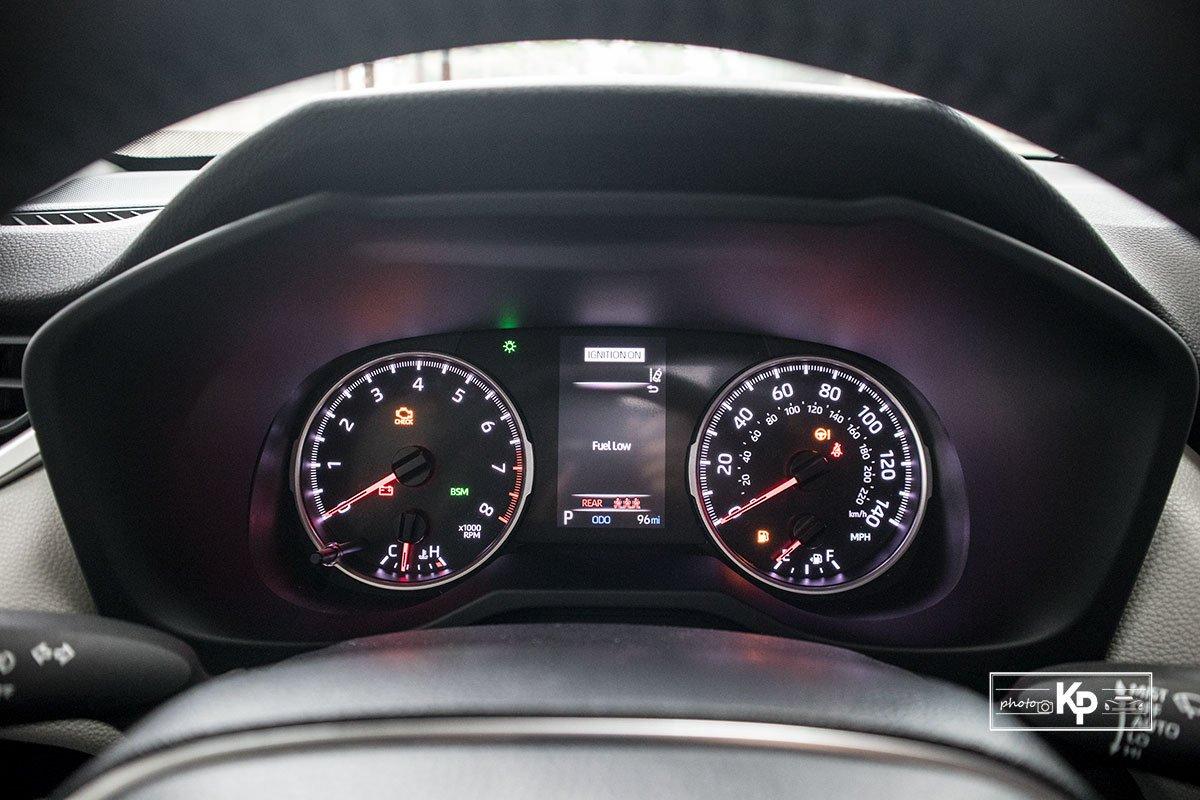 Ảnh Đồng hồ xe Toyota RAV4 2021