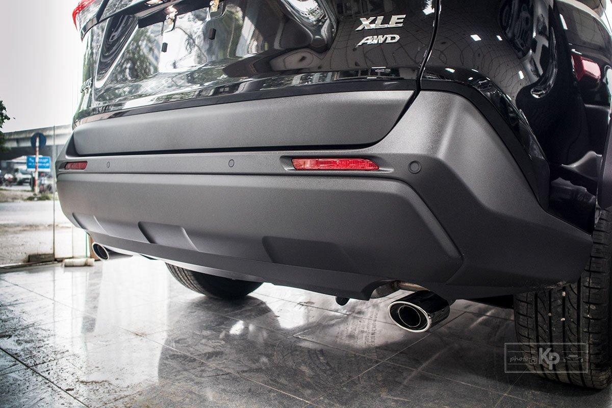 Ảnh Cản sau xe Toyota RAV4 2021