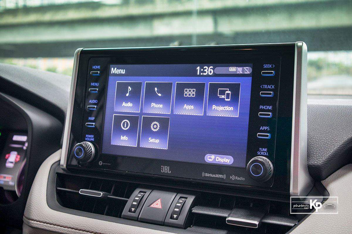 Ảnh Màn hình xe Toyota RAV4 2021