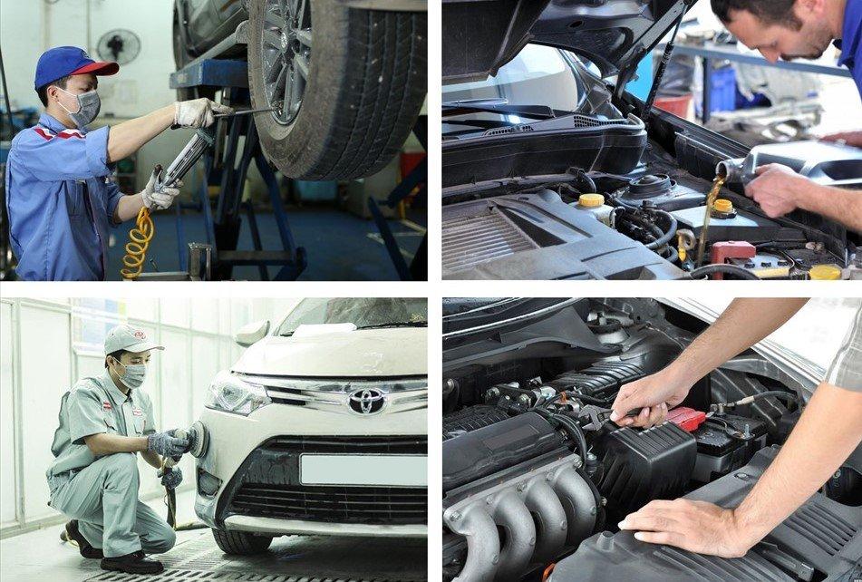 Các bộ phận trên ô tô cần được kiểm tra và chăm sóc định kỳ để hoạt động bền bỉ và trơn tru 1