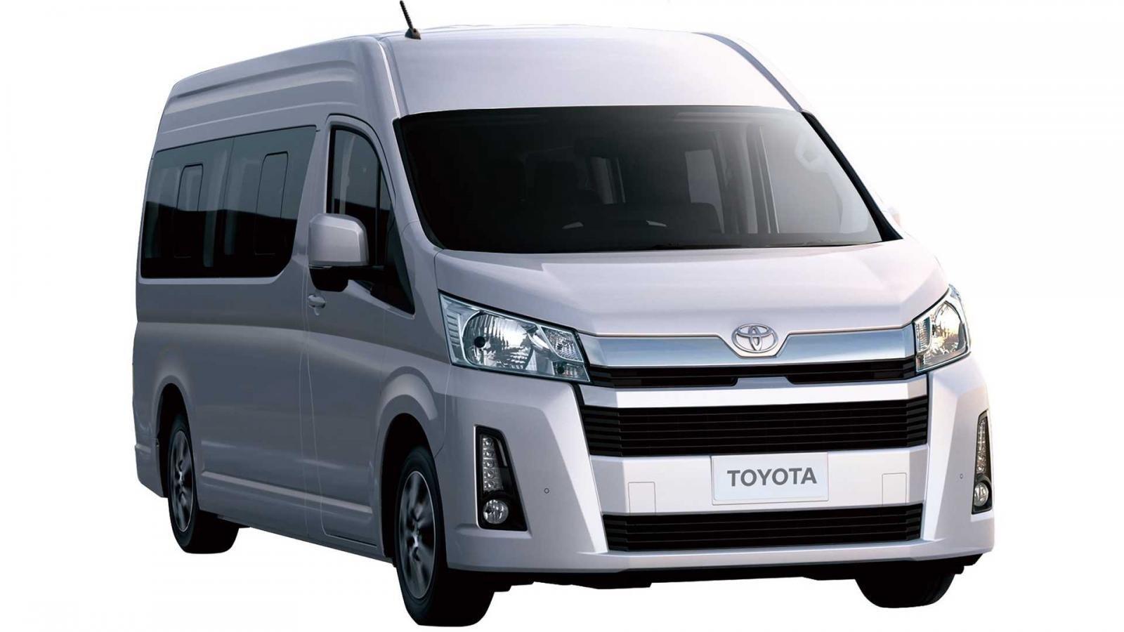 Ngoại thất Toyota Hiace 2019