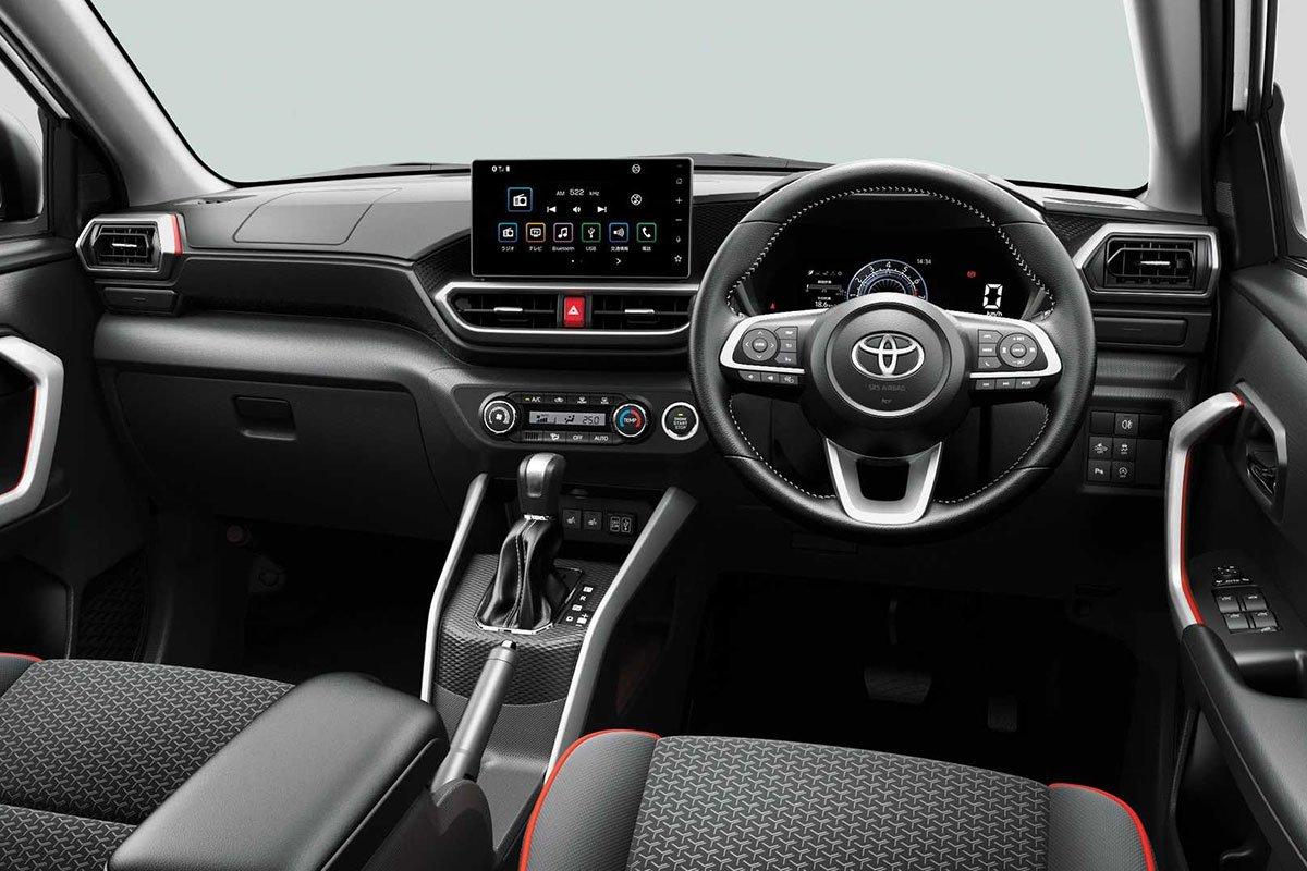 Ảnh Khoang lái xe Toyota Raize 2021