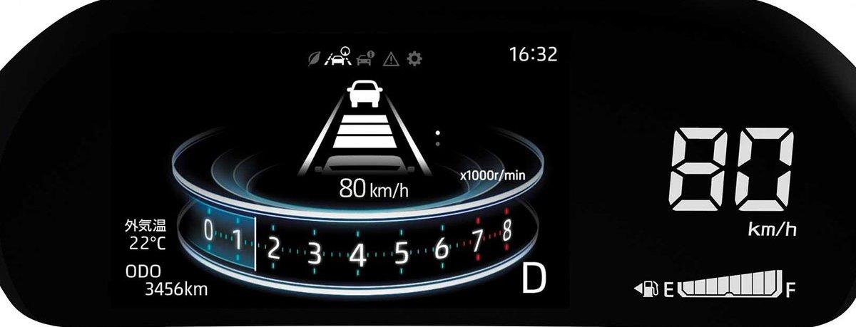 Ảnh Cụm đồng hồ xe Toyota Raize 2021