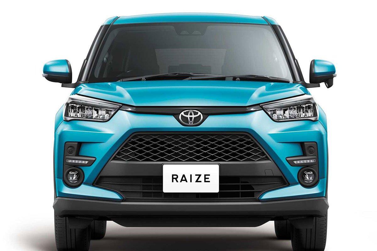 Ảnh Đầu xe Toyota Raize 2021